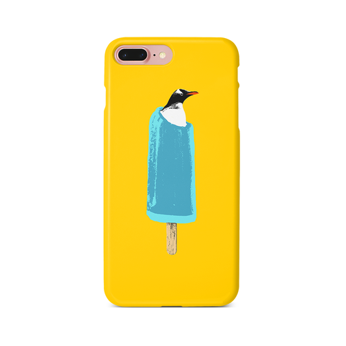 [iPhone ケース] cool biz penguin