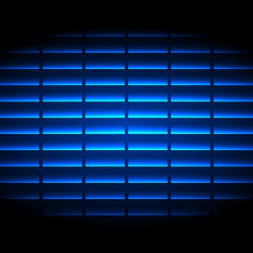 デジタル 背景 青