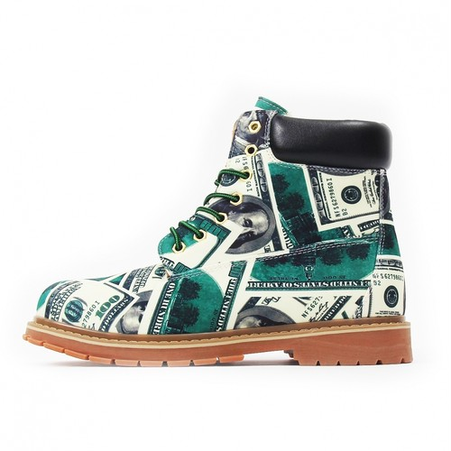 NOT FOR SALE Dollar Boots GREEN