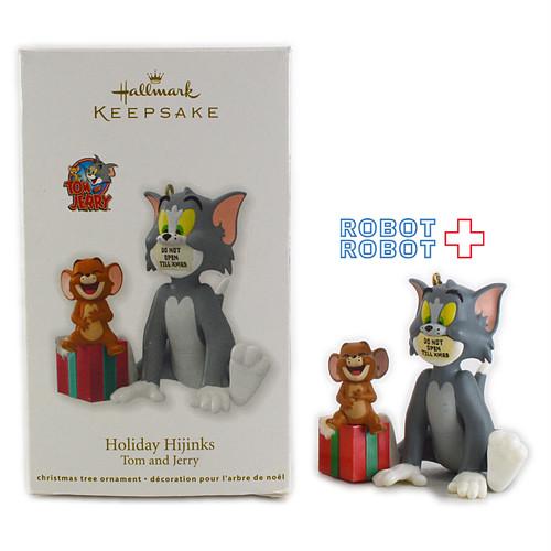 Hallmark 2012 トム&ジェリー クリスマス・オーナメント ホリデーハイジンクス 箱入