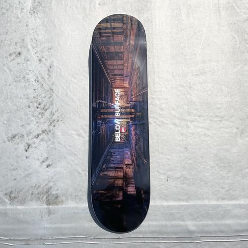 Hopps Skateboards / BELOW SURFACE MOVEMENT 2021 / 8x31.7inch (20.32x80.4cm)