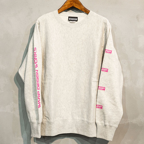 Warp Design Works Logo sleeve sweat