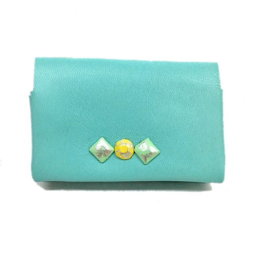 B級品  COVER CardCase LIGHTBLUE③