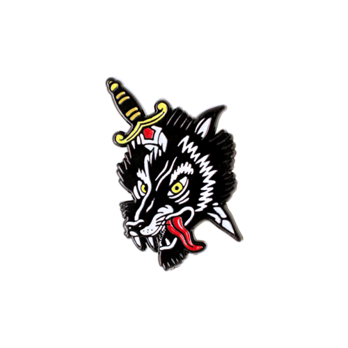 "Mover&Shaker""LOS LOBOS PIN"""