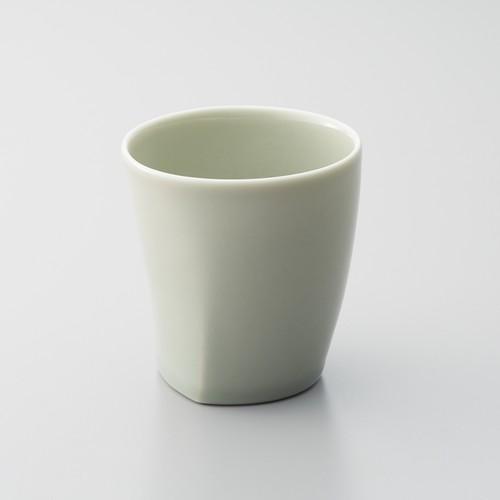 瀬戸焼 灰釉 緑 スタックカップ