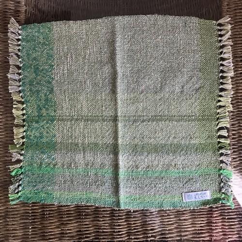 さをり織りマット(形が少しいびつです)