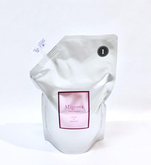 Magenta Velvety Shampoo(800mlリフィル)