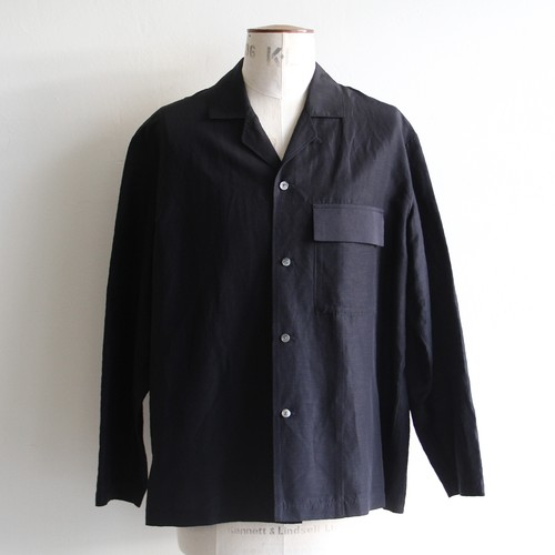 STILL BY HAND【mens】cupro linen jacket