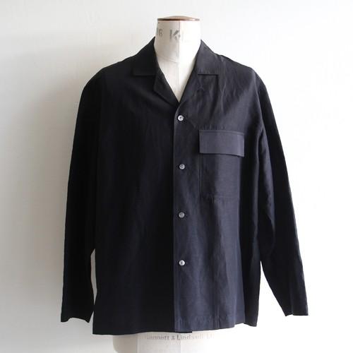 STILL BY HAND【mens】cupro linen jacket