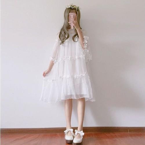 lace floral dress 1884