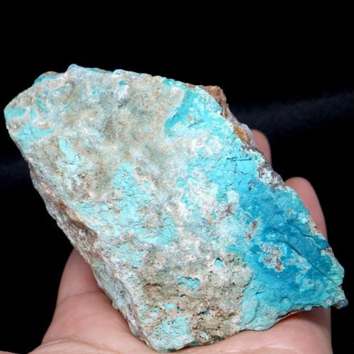 クリソコラ  カルサイト  ヘミモルファイト 珪孔雀石 330g CHS046  鉱物 天然石 原石 パワーストーン