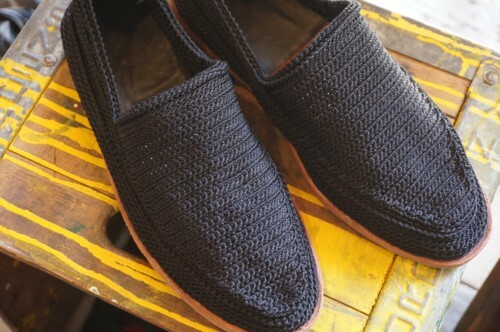 unknown woven rope slip-on Shoes