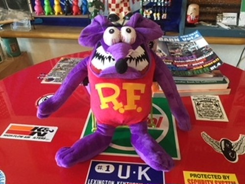 Rat Fink BENDABLE DOLL (RAF523 PU)