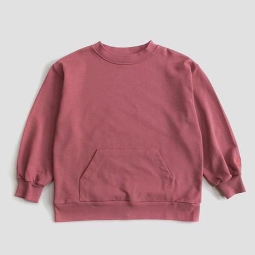 《main story 2019AW》WIDE SWEATSHIRT / red apple