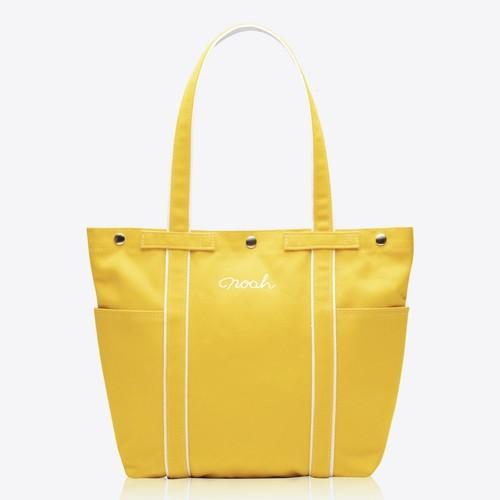 Multi-Pocket Tote(Yellow)