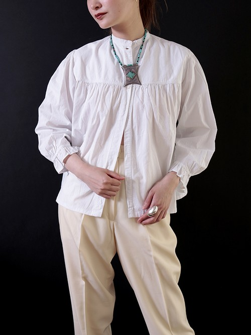 1920's Cotton Frilled Blouse