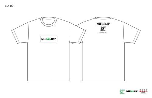 猪苗代野外音楽堂MEETAGAIN ロゴTシャツ(MA-9)