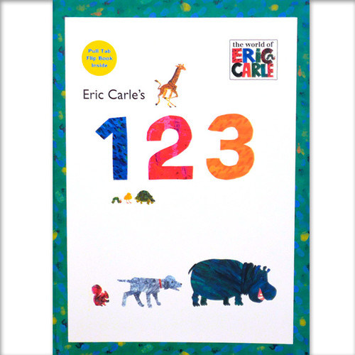 「Eric carl's 123」 エリック・カール