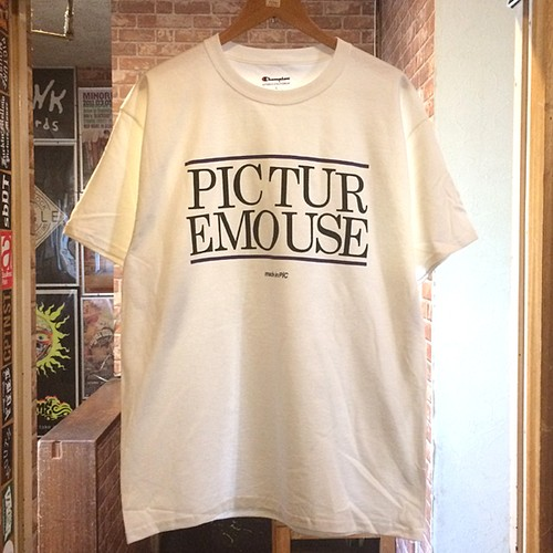 PICTURE MOUSE 2018 [USE] S/S Tsh (ホワイト)