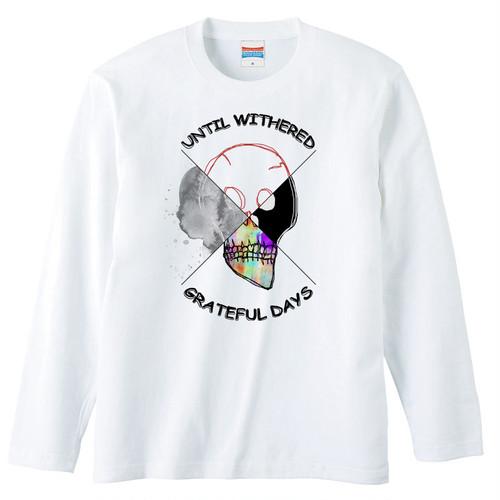 [ロングスリーブTシャツ] 4 Piece Skull