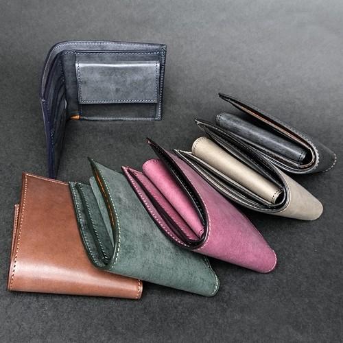 二つ折り財布 --- ロロマ