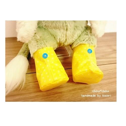 ジェラトーニ♡レインブーツ*長靴*雨の日や濡れるショ―にぴったり*イエロー