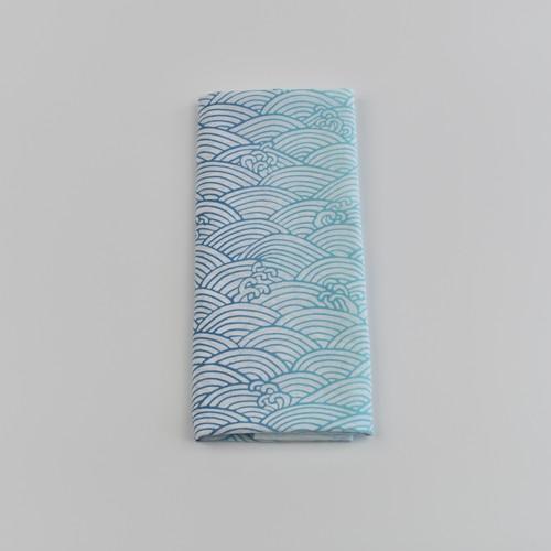 手ぬぐい|青海波(ブルーグラデーション)