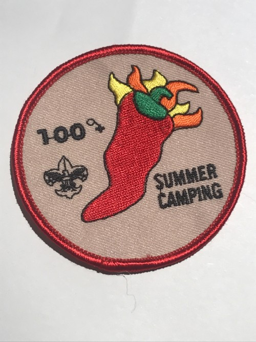 "Patch""SUMMER CAMPING"""