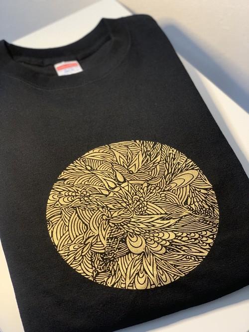 MaruTangle Tシャツ FULL MOONモデル(GOLD)
