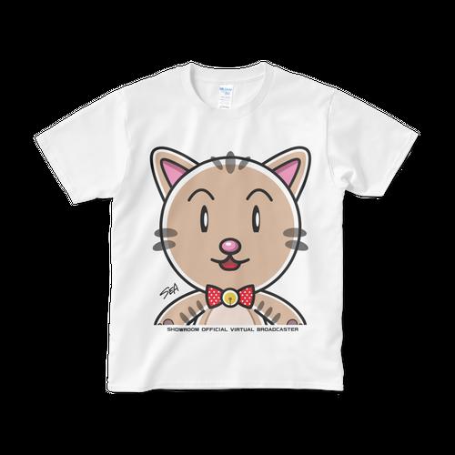 <白Tシャツ 正面>配信みーちゃん