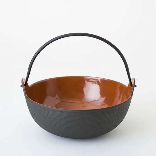 五進 / 田舎鍋 / 鉄 / 18cm / INAKA