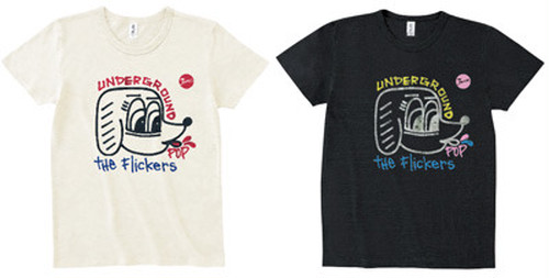 The Flickers x Rob Kidney / UNDERGROUND POP Tshirts