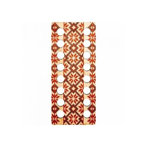 刺繍糸オーガナイザー【刺繍模様】