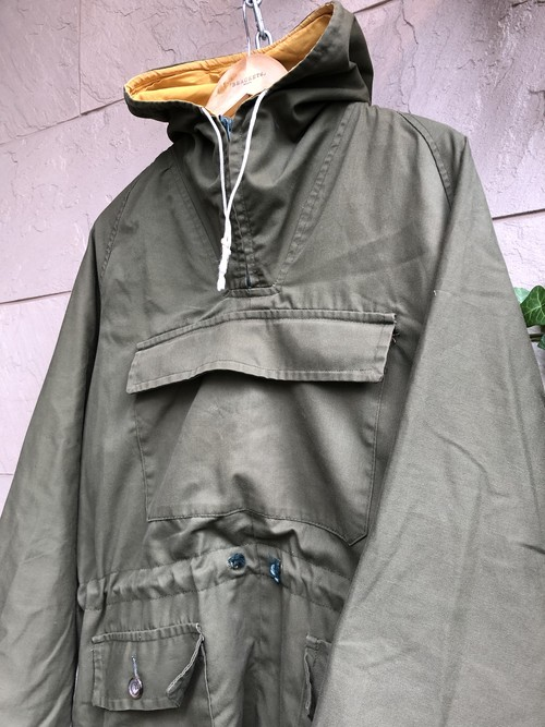 Old British hiking smock
