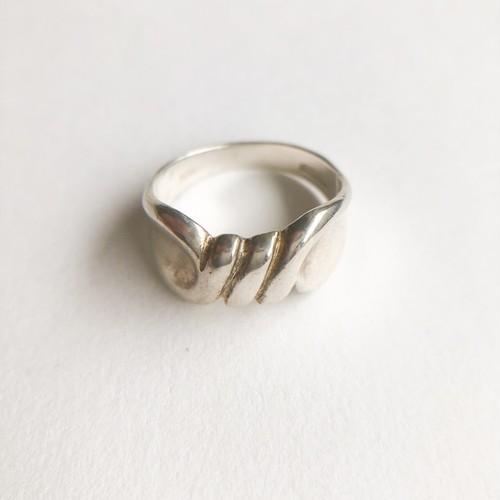 silver design ring #9[r-96]