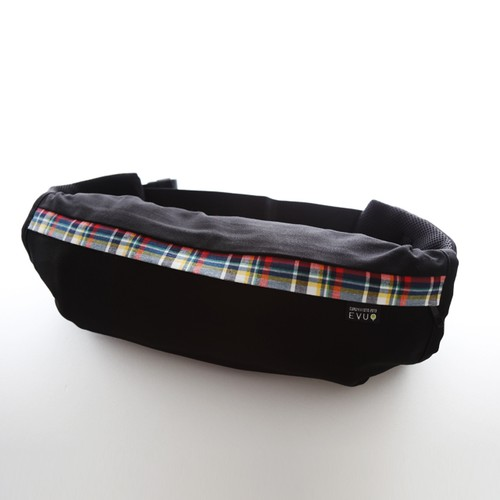 Black X CHECK 〈BABY CARRIER COVER CURUMI〉