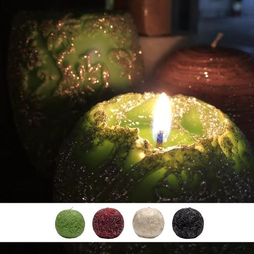 Paisley Globular Glitter