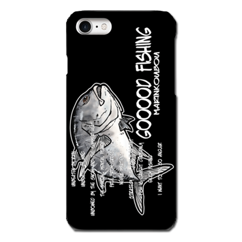 【ロウニンアジ 雨ニモマケズ】スマホケース iPhone7plus/6Plus/6sPlus