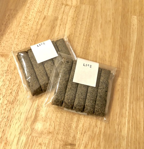 グルテンフリー 米粉のスティッククッキー <ごま>