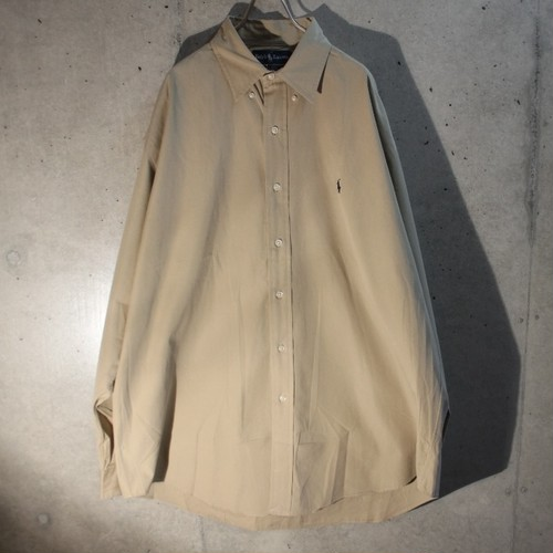 Ralph Lauren Cotton Beige Shirt