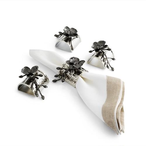 Michael Aram Black Orchid Napkin Ring(マイケルアラム ブラックオーキッド ナプキンリング)110834