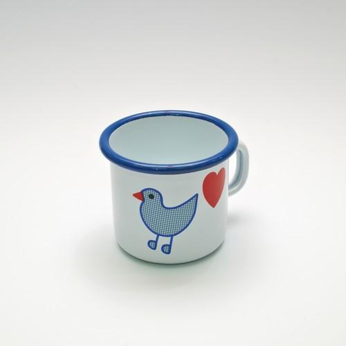 青い鳥 マグカップ