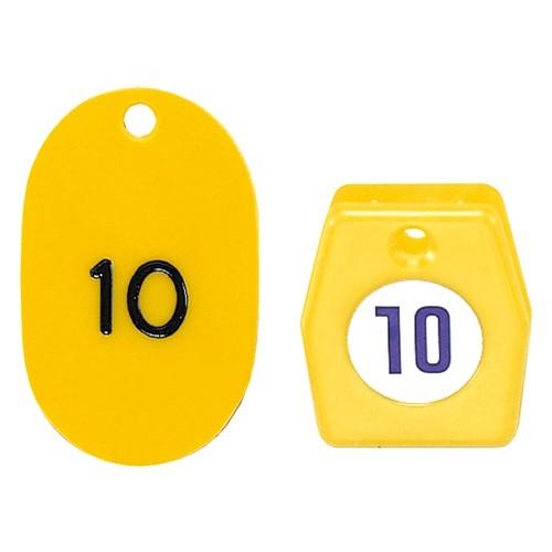 クローク札 クリップタイプ(2枚1組・50枚セット) NO.01