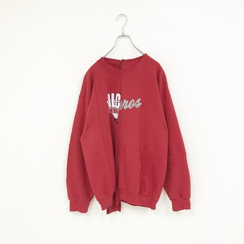REMAKE SWEAT(RED-2)