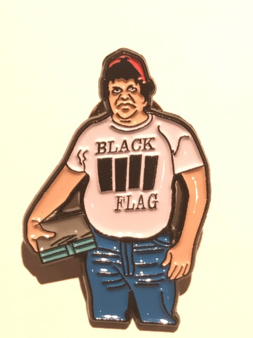 "FLOWERCHAINZ""John Goodman Wearing A Black Flag Shirt"""
