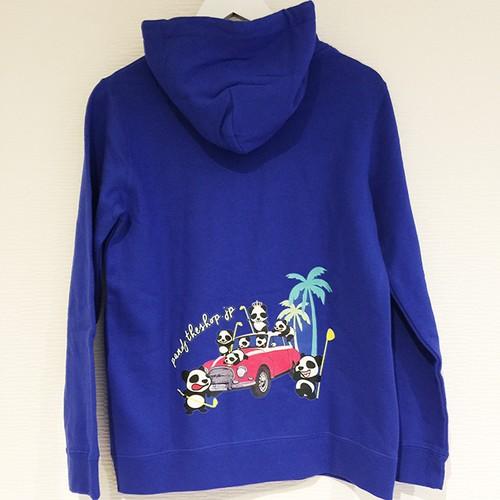 PANDYパーカー~ロイヤルブルー~