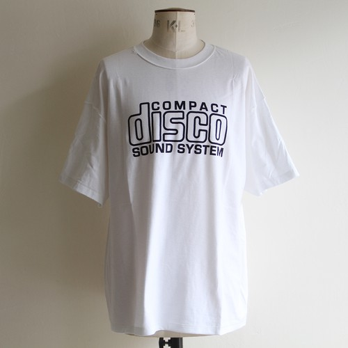 is-ness music【 mens 】disco tee