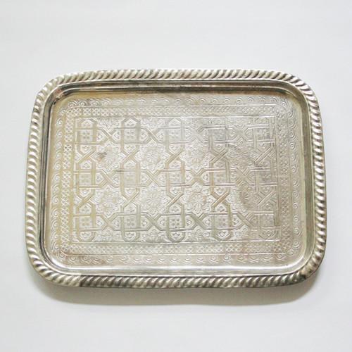 シルバー角トレー /10/ MOROCCO モロッコ