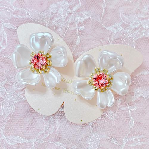 【earrings】Pearl〜YUKInoHANA〜