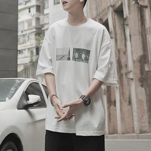 フォトプリントTシャツ BL5957